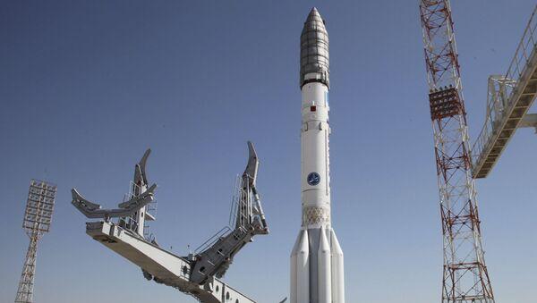 Rakieta Proton-M przed startem na kosmodromie Bajkonur - Sputnik Polska