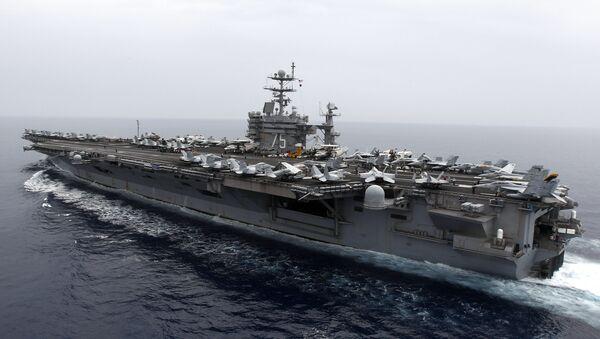 Lotniskowiec USS Harry S. Truman - Sputnik Polska