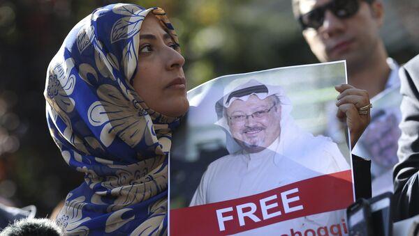 Zaginiony dziennikarz Jamal Khashoggi - Sputnik Polska