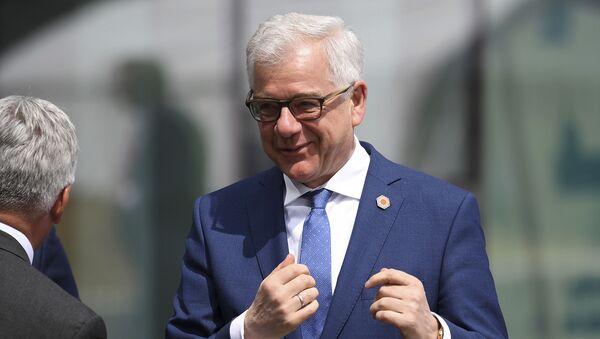 Minister Spraw Zagranicznych RP Jacek Czaputowicz - Sputnik Polska