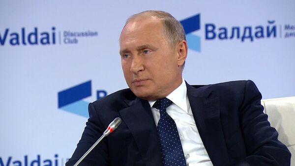 Putin o ataku nuklearnym - Sputnik Polska