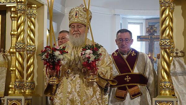 Biskup Rosyjskiego Kościoła Prawosławnego poza granicami Rosji metropolitan Hilarion - Sputnik Polska