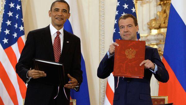 Podpisanie umowy START - Sputnik Polska