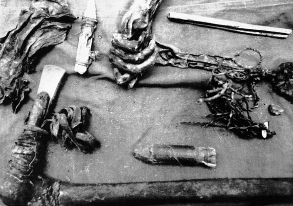 Zamrożone ciało, znalezione w Alpach - Sputnik Polska