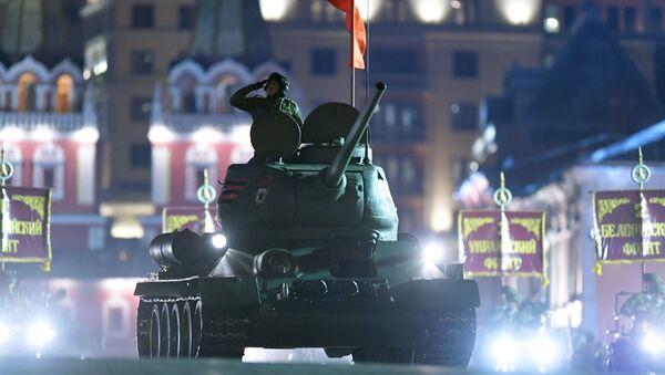 Próba parady zwycięstwa, Moskwa - Sputnik Polska