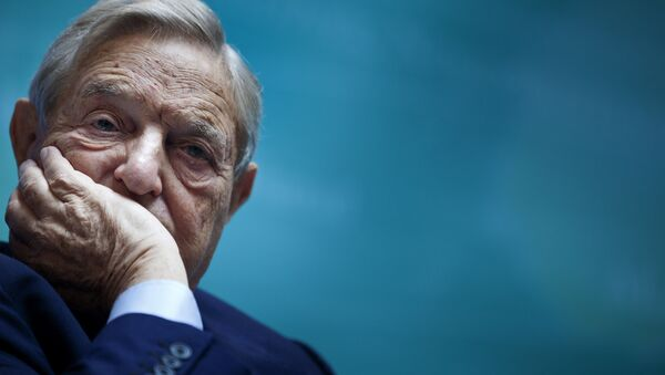 Amerykański miliarder George Soros - Sputnik Polska