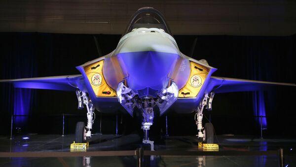 Amerykański myśliwiec F-35A Lightning II - Sputnik Polska