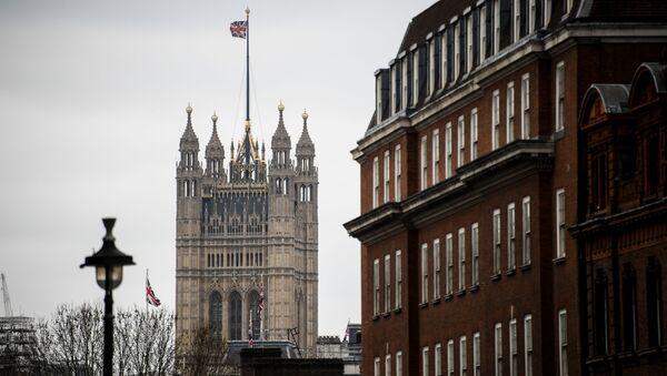 Victoria Tower Pałacu Westminsterskiego w Londynie - Sputnik Polska
