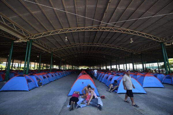 Obóz migrantów - Sputnik Polska