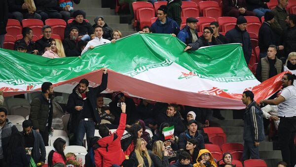 Irańscy kibice - Sputnik Polska