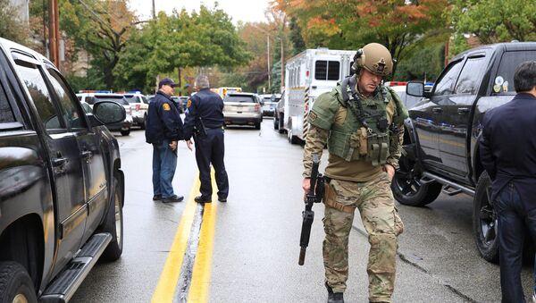 Strzelanina w synagodze w Pittsburghu - Sputnik Polska