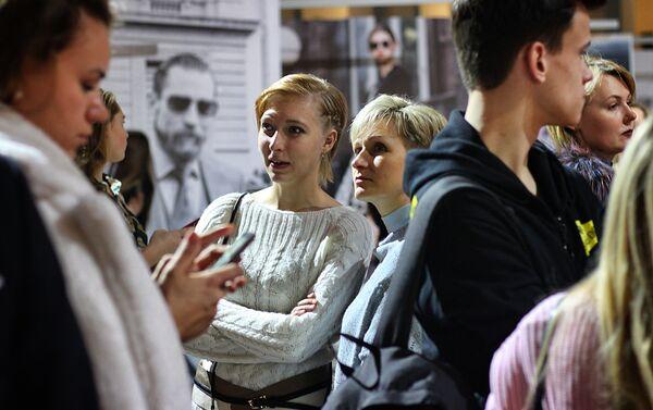 Goście Moscow Fashion Week 2018 - Sputnik Polska
