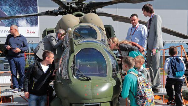 Mi-35M – rosyjska głęboka modernizacja śmigłowców Mi-24W opracowana na przełomie XX i XXI wieku - Sputnik Polska