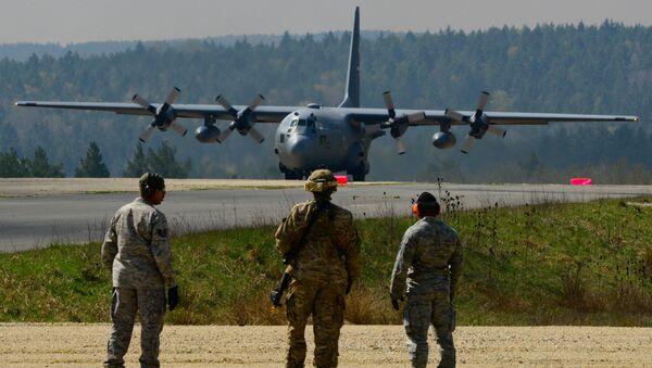 Amerykańska Baza Sił Powietrznych Ramstein w Niemczech - Sputnik Polska