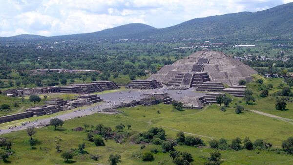 Piramida Księżyca w Teotihuacán - Sputnik Polska