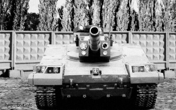 Model czołgu Obiekt 490 - Sputnik Polska