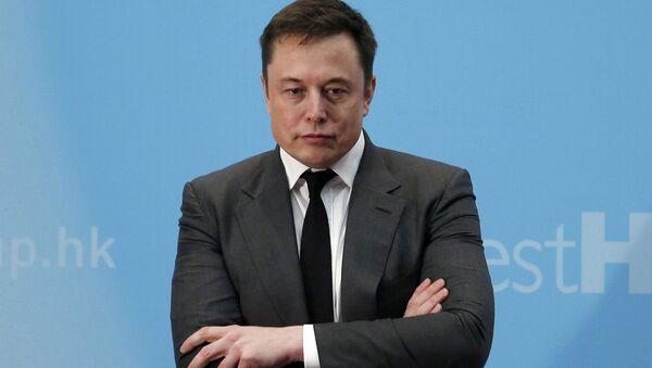 Przedsiębiorca Elon Musk - Sputnik Polska