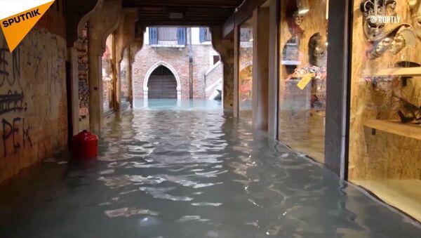 Wenecja pod wodą - Sputnik Polska