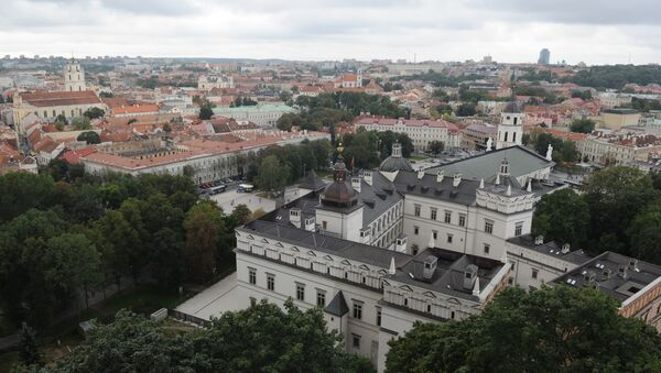 Widok na Wilno z wieży Giedymina - Sputnik Polska