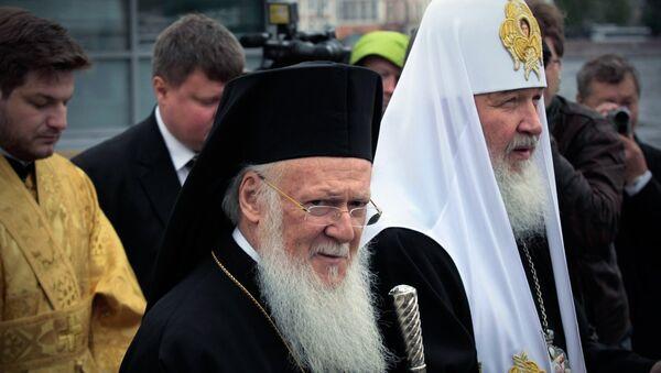 Wizyta patriarchy Bartłomieja w Petersburgu - Sputnik Polska