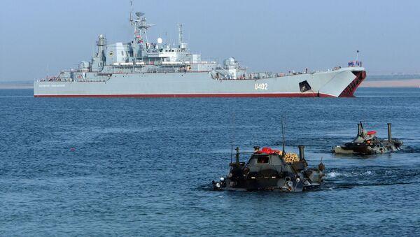 Ćwiczenia marynarki wojennej Ukrainy i USA Sea Breeze - Sputnik Polska