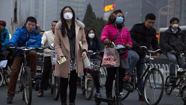 Zanieczyszczone powietrze - Sputnik Polska