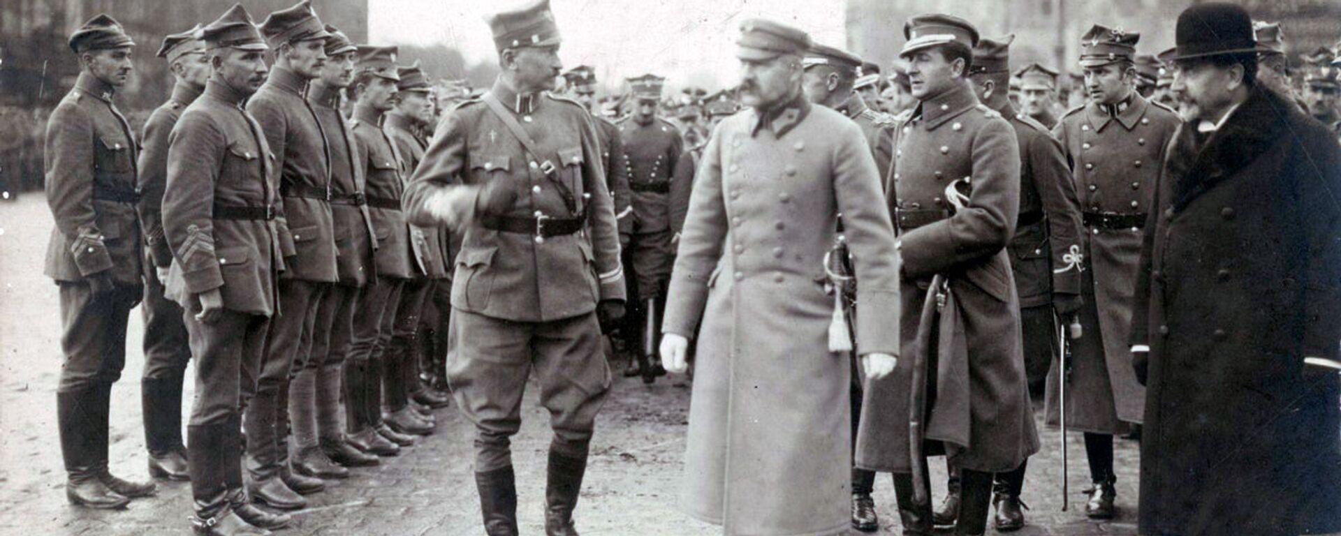 Józef Piłsudski - Sputnik Polska, 1920, 16.03.2021