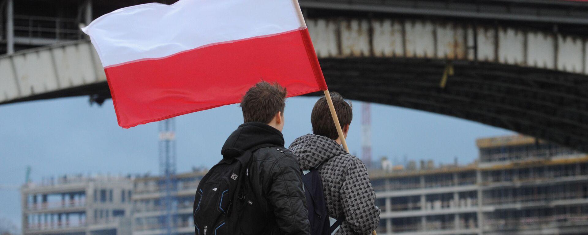 Flaga Polski w Warszawie - Sputnik Polska, 1920, 03.09.2021