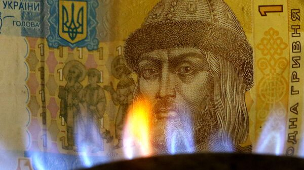 Banknot w ogniu - Sputnik Polska
