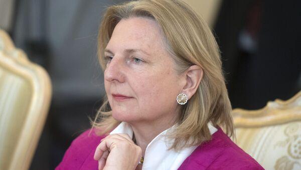 Minister spraw zagranicznych Austrii Karin Kneissl. Zdjęcie archiwalne - Sputnik Polska
