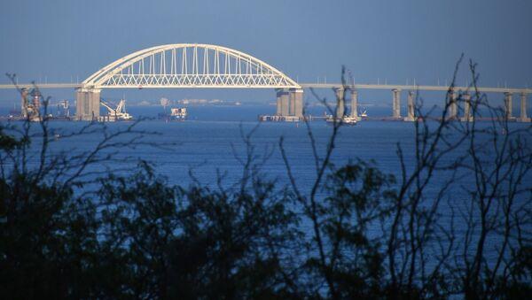 Widok na Most Krymski - Sputnik Polska