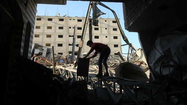 Strefa Gazy - Sputnik Polska