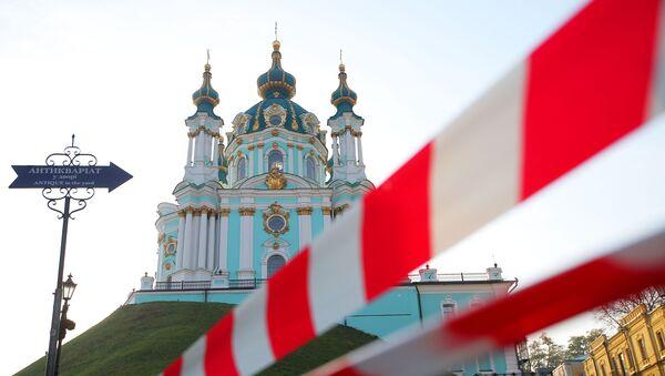 Cerkiew św. Andrzeja w Kijowie - Sputnik Polska