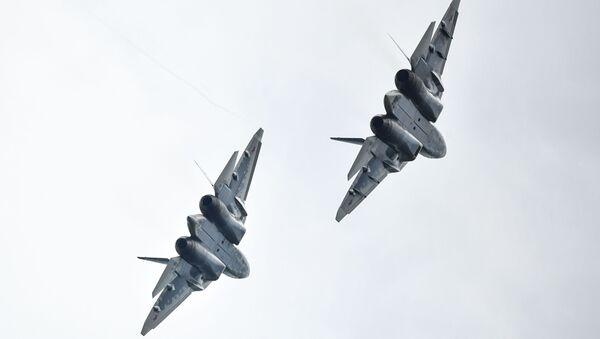 Myśliwce Su-57 - Sputnik Polska