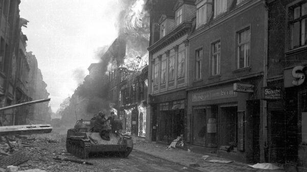 Czołg w Gdańsku. II Wojna Światowa - Sputnik Polska