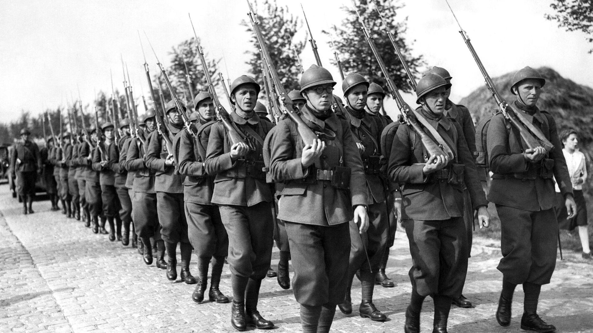 Polscy żołnierze podczas II Wojny Światowej - Sputnik Polska, 1920, 08.09.2021