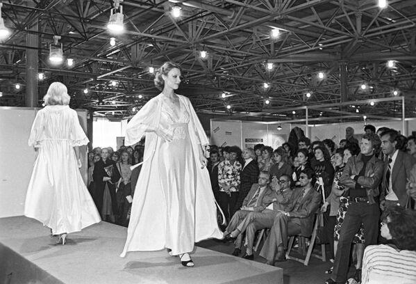 Pokaz mody francuskiej w Moskwie, 1979 rok - Sputnik Polska