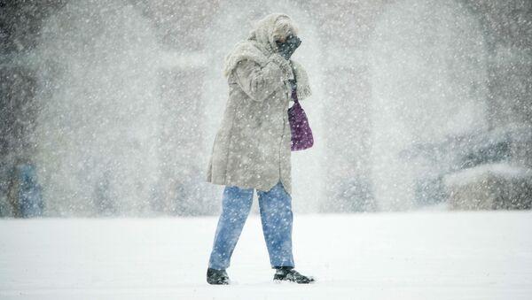 Burza śnieżna w Filadelfii, USA - Sputnik Polska