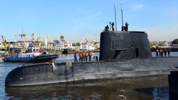 Katastrofa okrętu San Juan - Sputnik Polska