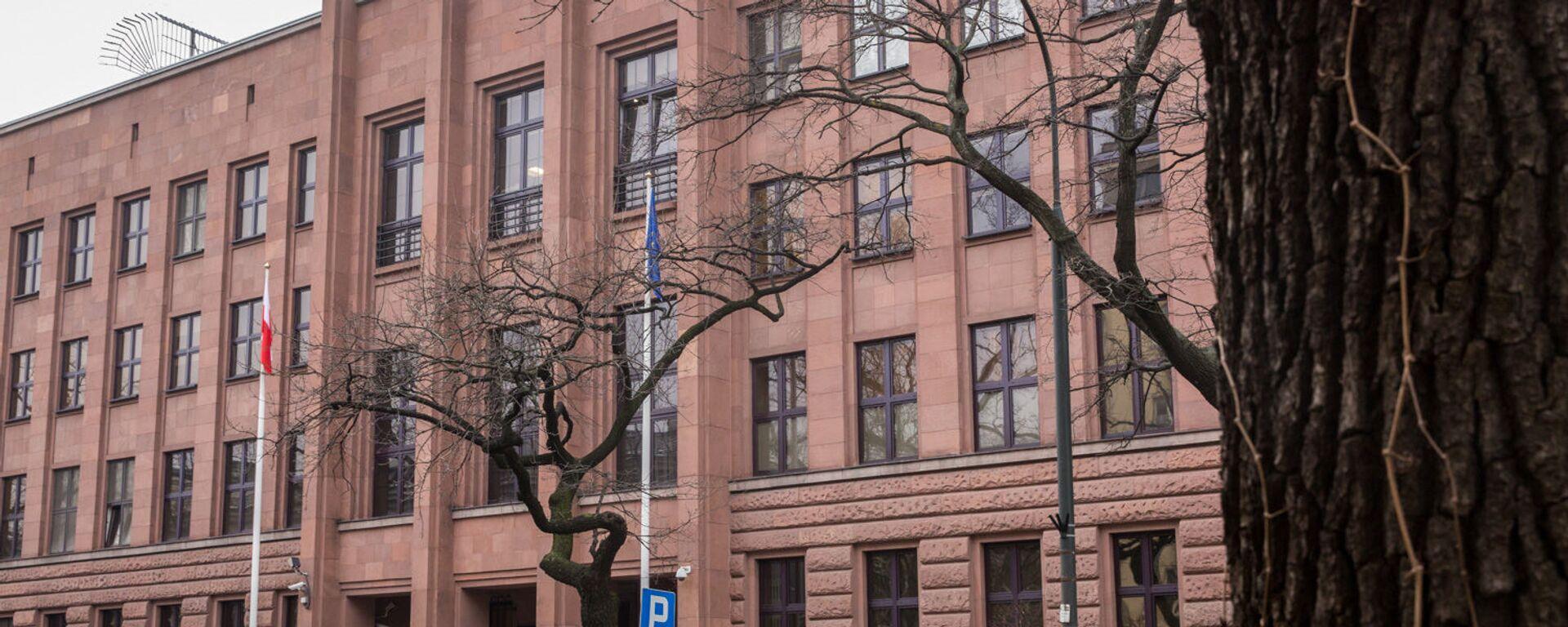 Budynek MSZ Polski - Sputnik Polska, 1920, 25.03.2021