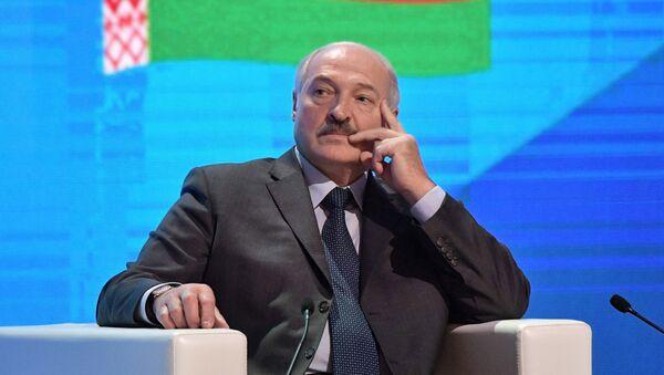 Prezydent Białorusi Aleksander Łukaszenka - Sputnik Polska