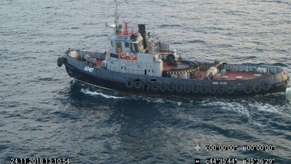 Ukraińskie okręty naruszyły granicę Rosji - Sputnik Polska