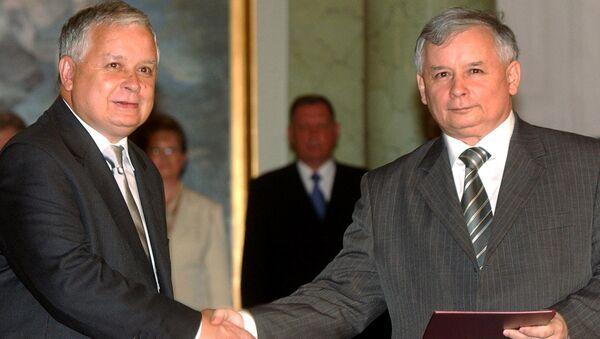 Lech i Jarosław Kaczyńscy - Sputnik Polska