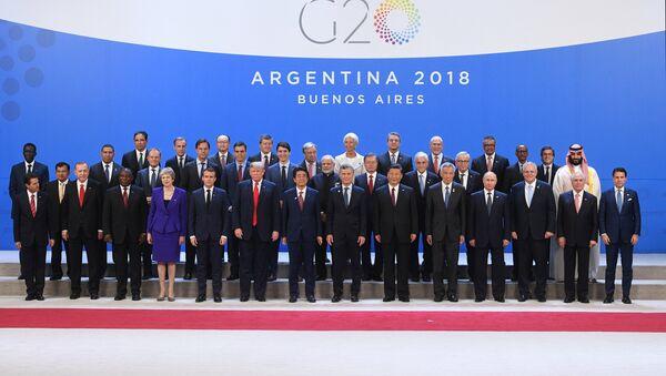Szczyt G20 - Sputnik Polska