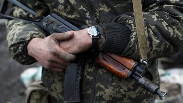 Żołnierz ukraińskiej armii - Sputnik Polska