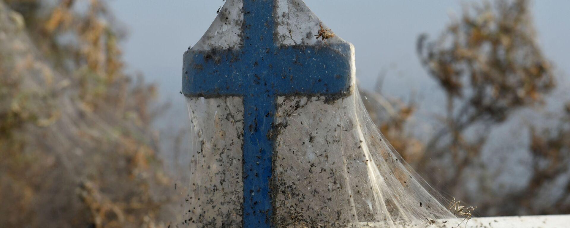 Krzyż w pajęczynie, Grecja - Sputnik Polska, 1920, 07.09.2021