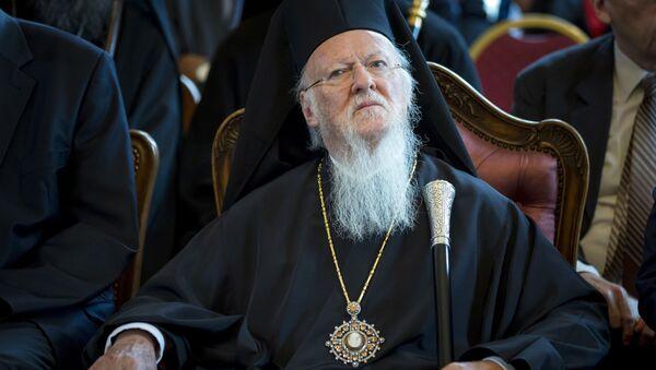 Patriarcha Konstantynopola Bartłomiej - Sputnik Polska