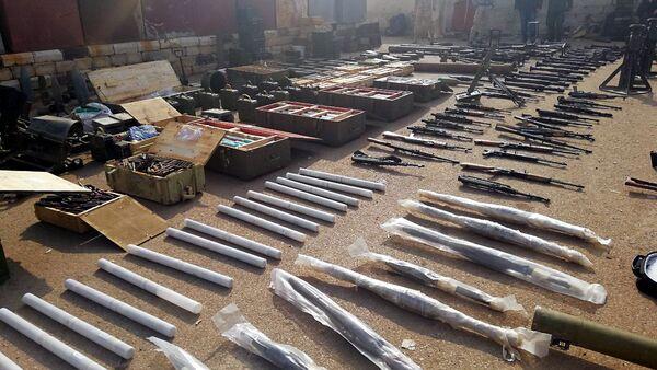 W Syrii znaleziono podziemny magazyn terrorystów - Sputnik Polska