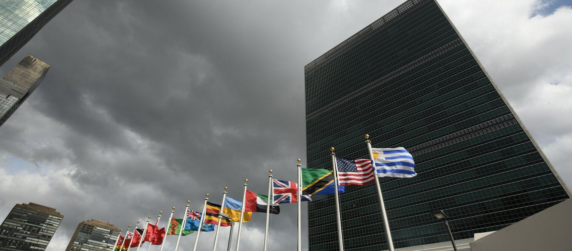 Siedziba ONZ w Nowym Jorku - Sputnik Polska, 1920, 10.02.2021