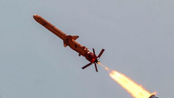 Testy ukraińskiego pocisku Neptun - Sputnik Polska